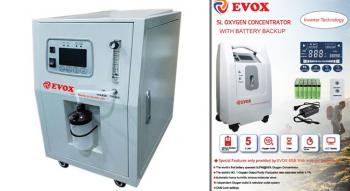 Use Of An Oxygen Concentrator