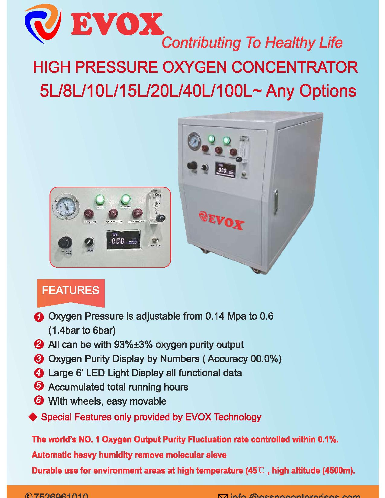 Oxygen Concentrator 10 LPM